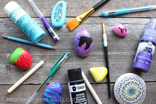 Comment commencer à peindre des roches