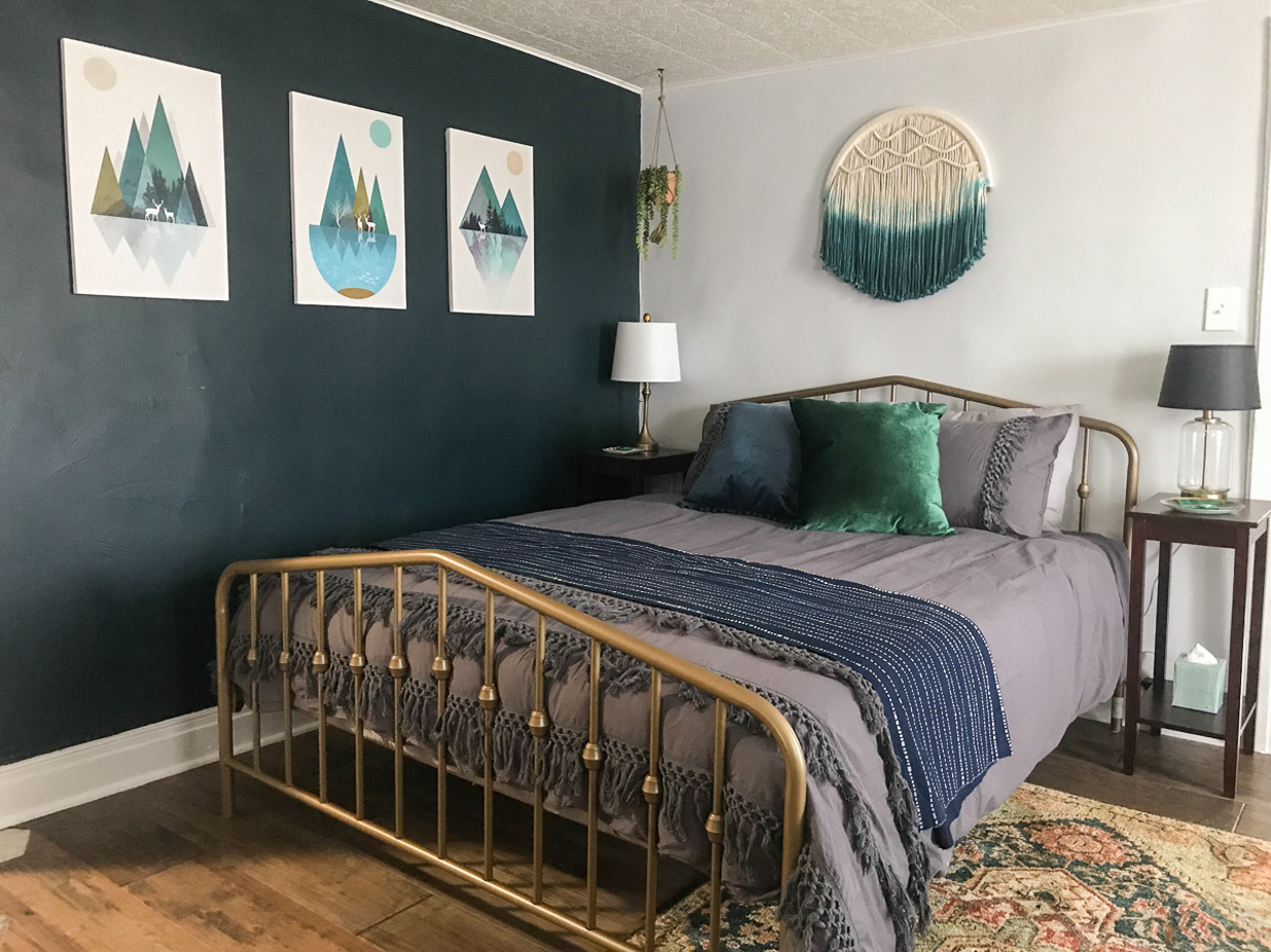 suite boho airbnb chambre relooking thym diyshowoff