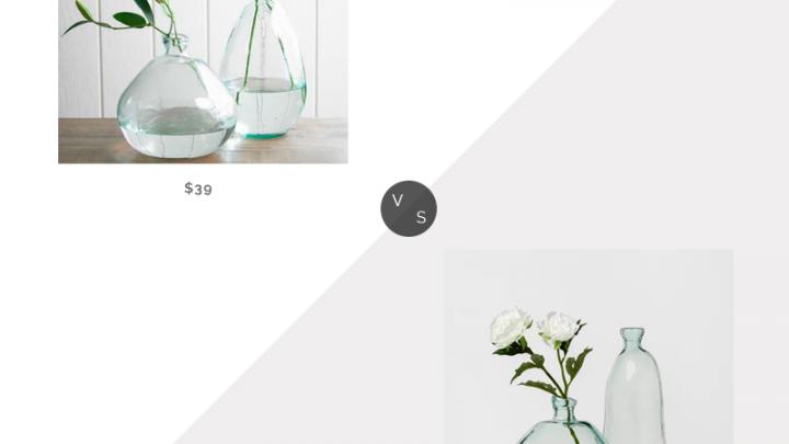 Recherche quotidienne | Vase à ballon en verre recyclé Viva Terra Clear