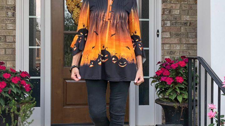 La mode des 50 ans et plus: mode automne / Halloween