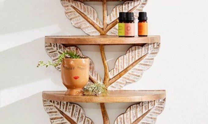 Tutoriel sur l'étagère à feuilles sculptées – Reality Daydream