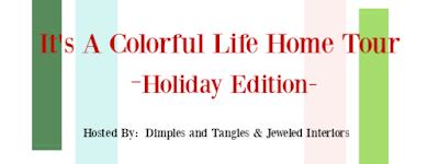 Arbre de Noël coloré et inspiration de cuisine
