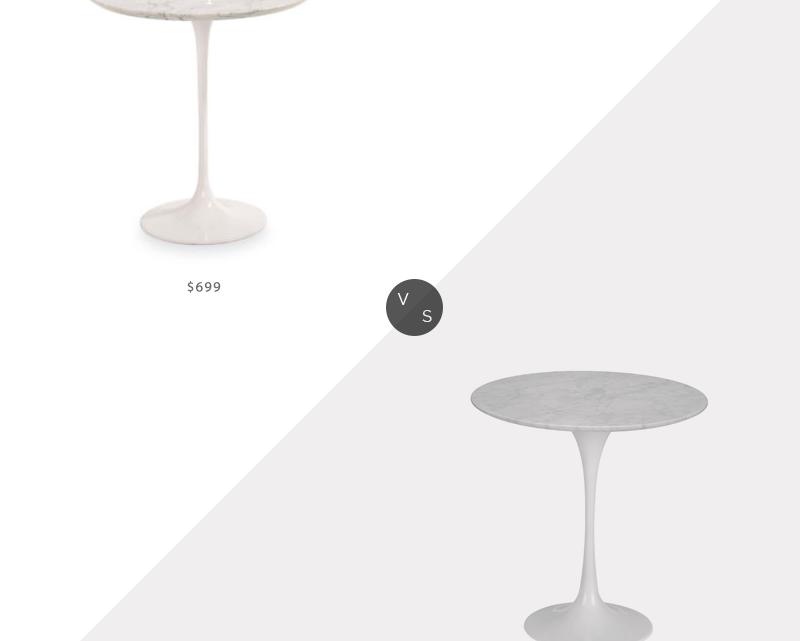 Recherche quotidienne   Chambre et plateau de bout Saarinen