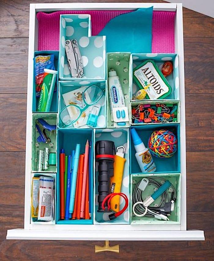 Shabbyfufu - Organisation des tiroirs indésirables pour de bon