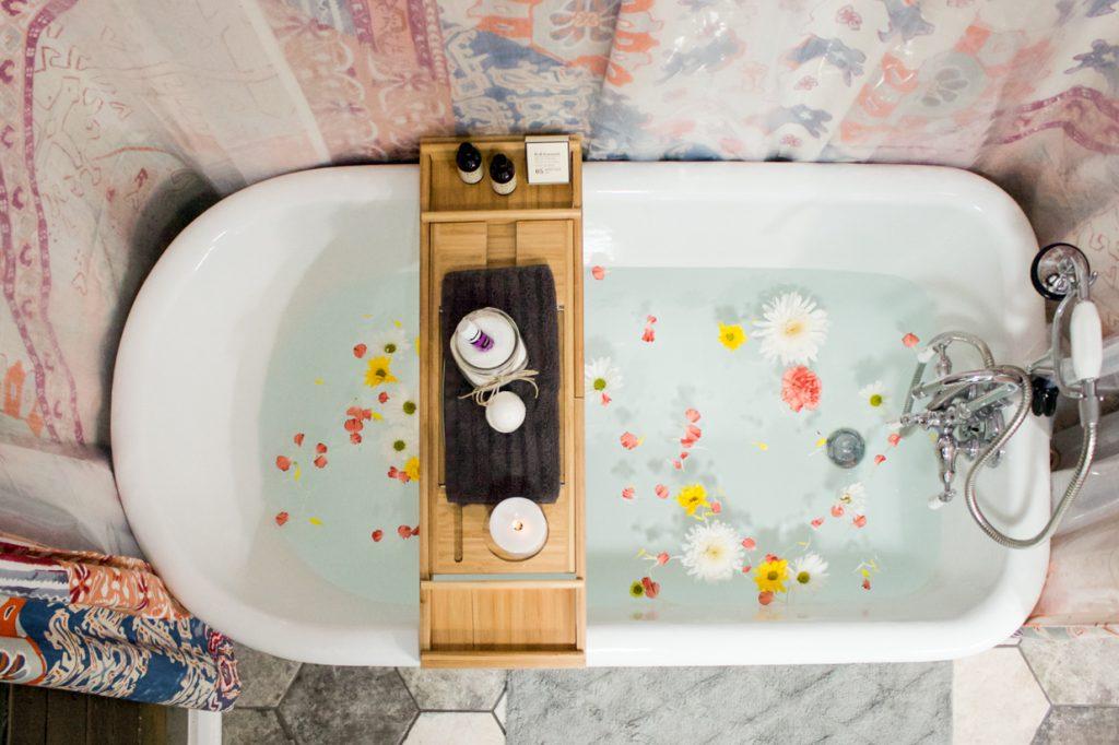 bain aux pattes bain aux fleurs huiles essentielles