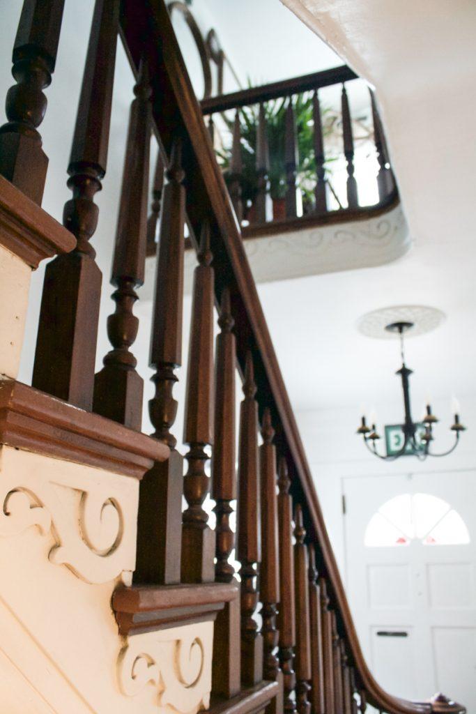 escalier séparé