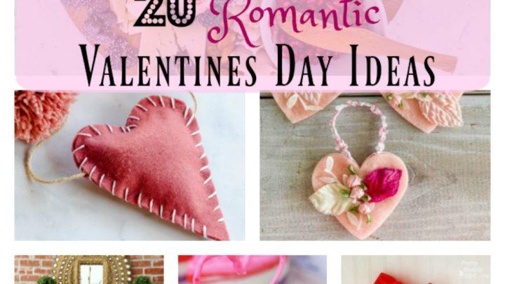 20 idées romantiques pour la Saint Valentin