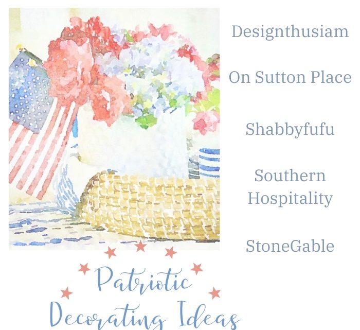 Idées de décoration patriotique – Hospitalité du Sud