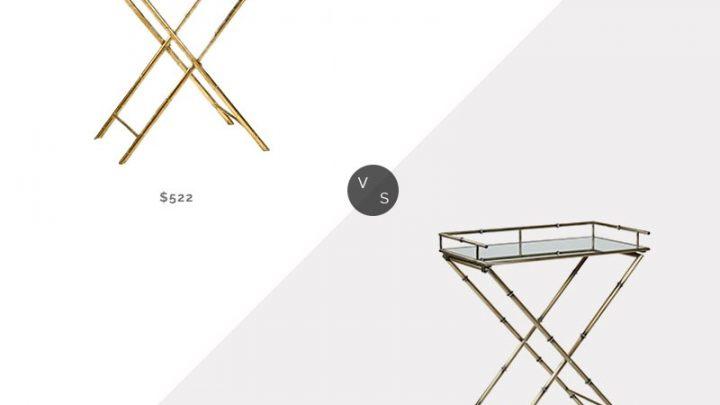 Recherche quotidienne    Table Plateau en Bambou Or Cyan Design