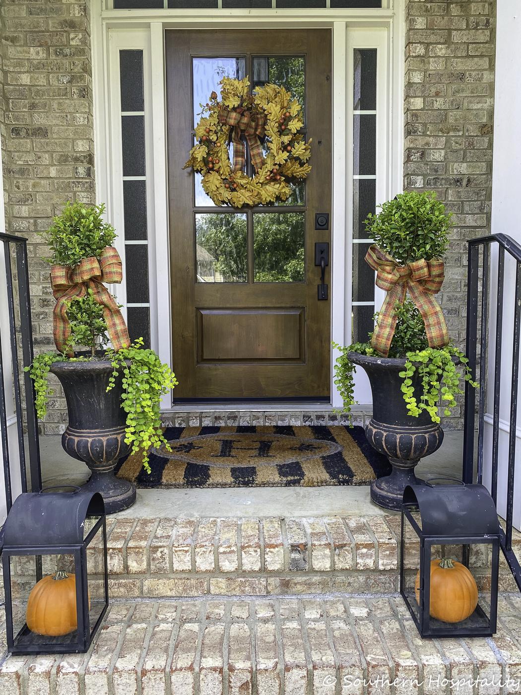 Idées de porche d'automne