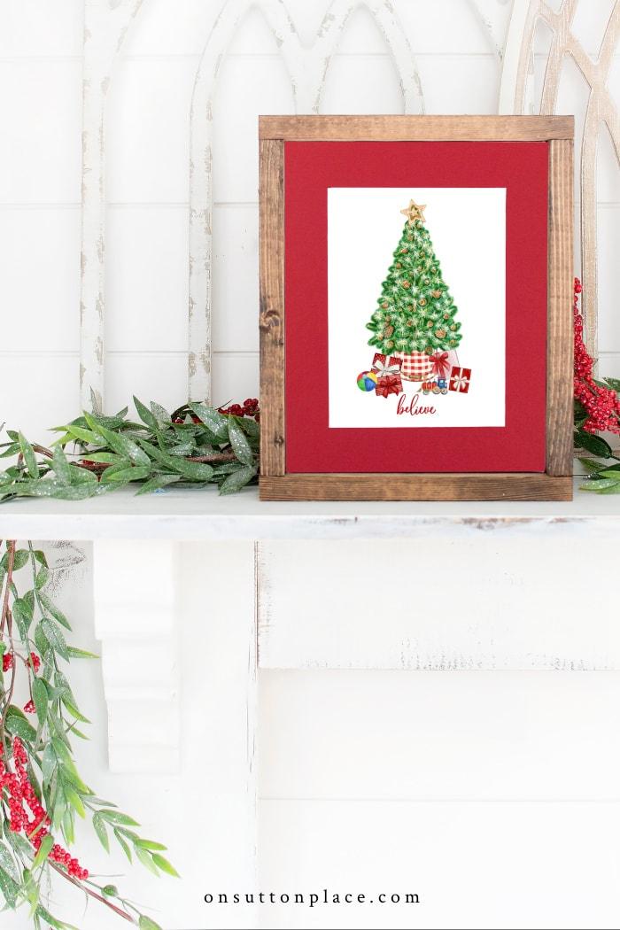 Imprimables de Noël gratuits d'On Sutton Place