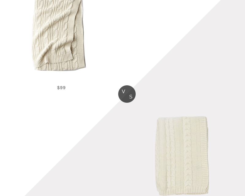 Recherche quotidienne |  The Company Store Jeté en tricot torsadé épais