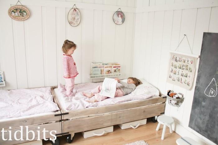 chambre partagée entre filles
