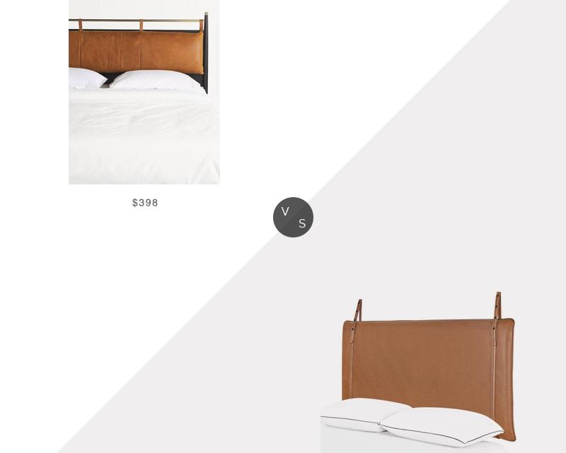 Recherche quotidienne    Coussin de tête de lit en cuir à ourlet Anthropologie