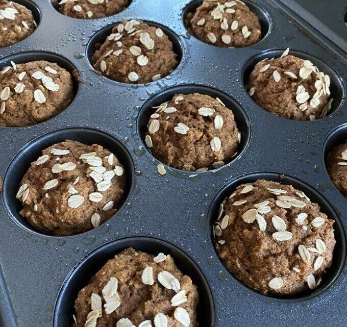 Muffins à la citrouille dans un bol FACILES    Réalité Rêverie