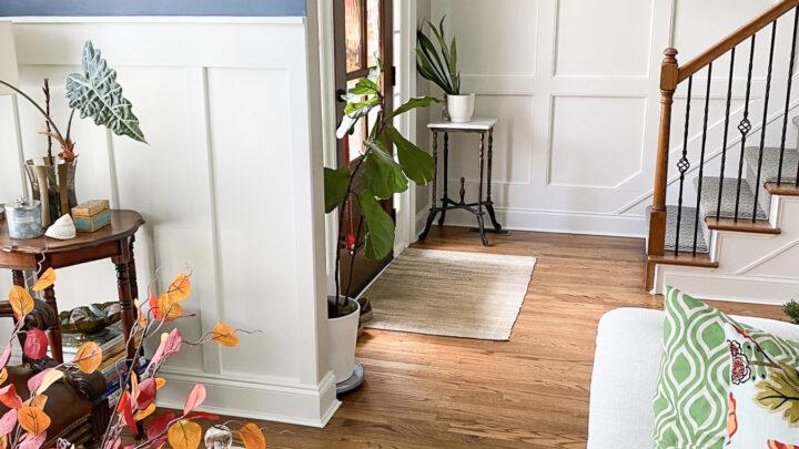 Décoration d'automne : salon, foyer et salle familiale